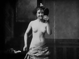 1920's porn: combing her hair