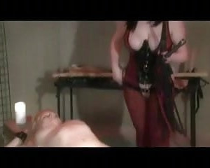 Lezdom Electro Stimulation And Whipping