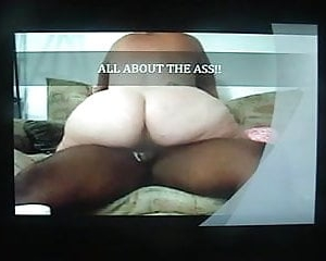 pawg rides black cock