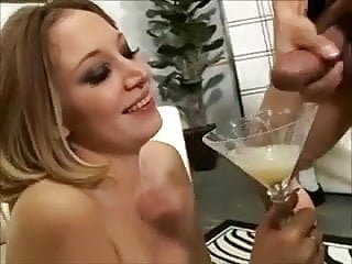 She Loves swallow a lot of cum - 2