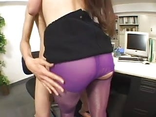 JAV Pantyhose Sex